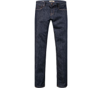 Blue-Jeans Adam Slim Fit Baumwolle indigo