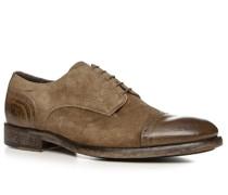 Schuhe Burford Velours-Büffelleder fango