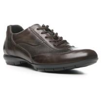 Herren Schuhe ANDRES Kalbleder dunkelbraun