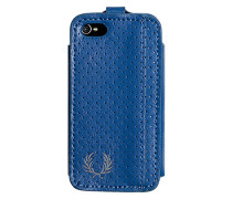 Smart Phone Case, Kunstleder, capriblau