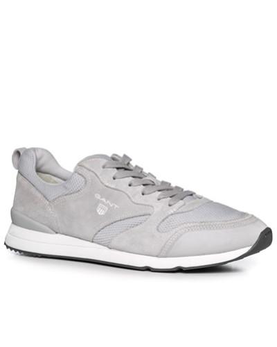 Gant Herren Schuhe Sneaker, Leder-Textil, hellgrau