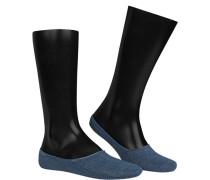 Socken Baumwolle jeansblau