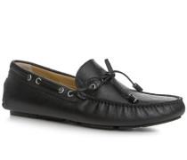 Schuhe Mokassins Kalbleder