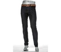Jeans Lefthand Slim Fit Baumwolle dunkelblau