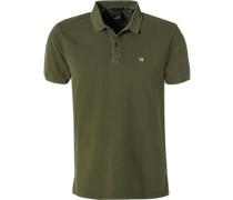 Polo-Shirt Polo, Baumwolle, olivgrün