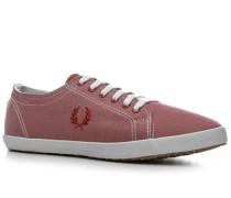 Schuhe Sneaker Textil dunkelrot
