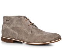 Schuhe Desert Boots Kalbveloursleder greige