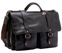 Herren Tasche  Aktentasche Leder dunkelbraun