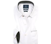 Hemd, Modern Fit, Baumwolle,