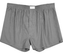 Unterwäsche Boxer-Shorts Fil-à-Fil anthrazit