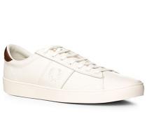 Herren Schuhe Sneaker Leder-Textil Ortholite® weiß weiß,weiß