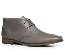 Herren Schuhe Desert Boots Leder grau grau,grau