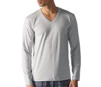 Schlafanzug Longsleeve, Baumwolle