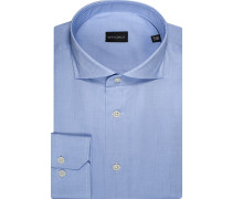 Hemd Regular Fit Baumwolle hellblau