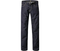 Herren Jeans Slim Fit Baumwoll-Stretch top blue blau