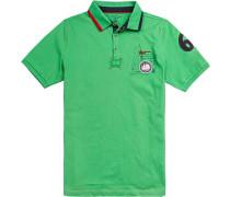 Polo-Shirt Polo Baumwolle hellgrün