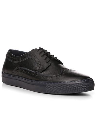 Aigner Herren Schuhe Sneaker, Kalbleder, navy