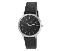 Herren Uhren  Chronograph Edelstahl schwarz
