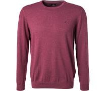 Pullover, Baumwolle, bordeaux