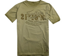 T-Shirt Baumwolle hellolivgrün