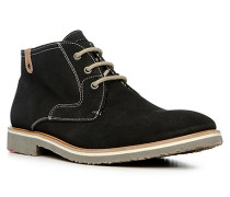 Herren Schuhe SPEED Veloursleder schwarz