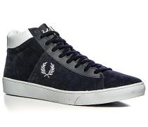 Schuhe Sneaker Veloursleder navy