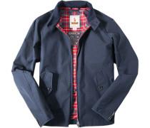 Motorrad-Jacke Baumwolle COOLMAX® dunkelblau