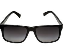 Brillen Sonnenbrille, Kunststoff, -blau