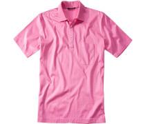 Polo-Shirt Polo Baumwoll-Jersey pink