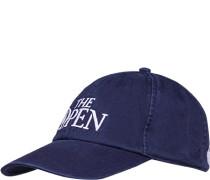 Cap Baumwolle marineblau