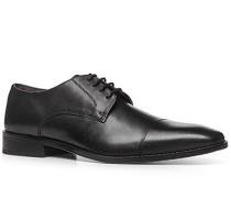 Herren Schnürschuhe Leder schwarz schwarz,grau,schwarz