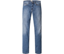 Jeans, Regular Fit, Baumwoll- Stretch