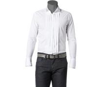 Hemd, Ultra Slim Fit, Popeline,