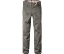 Hose Chino Slim Fit Baumwolle olive