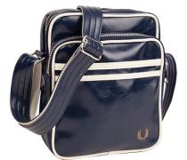 Tasche Umhängetasche Kunstleder dunkelblau