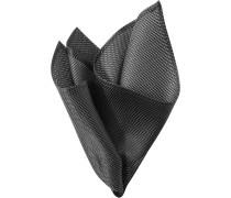 Herren Accessoires  Einstecktuch Seide schwarz gemustert