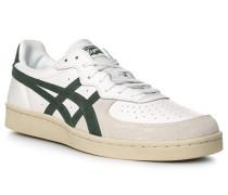 Schuhe Sneaker, Leder, -dunkelgrün