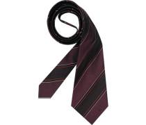 Herren Krawatte  grau,violett