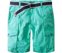 Hose Short Baumwolle mintgrün