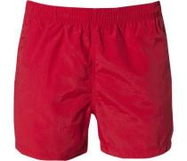 Herren Bademode Bade-Shorts asia red Taschen rot