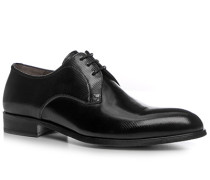 Herren Schnürschuhe Glanzleder schwarz braun,schwarz