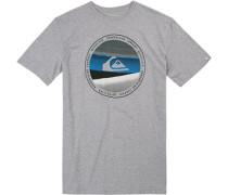 T-Shirt, Regular Fit, Baumwolle, hellgrau
