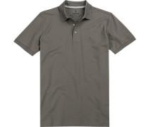 Polo-Shirt Polo, Pima Baumwoll-Piquè, dunkelgrau