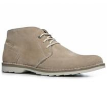 Herren Schuhe Desert Boots Veloursleder beige beige,grün