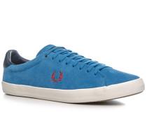 Schuhe Sneaker Veloursleder capriblau