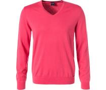 Pullover, Baumwolle-Seide-Kaschmir, pink