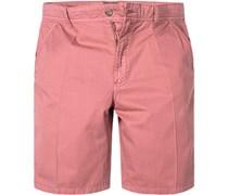 Herren Hose Shorts Baumwolle lachs rosa