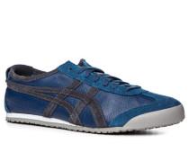 Schuhe Sneaker Glatt- und Veloursleder