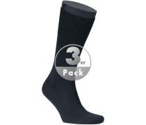 Socken Socken Wolle dunkelblau