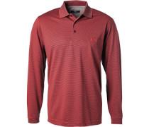 Polo-Shirt Polo Baumwoll-Jersey gestreift